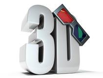 Gläser 3d Lizenzfreies Stockbild