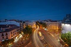 Glta de Bilbao, hora azul Imagen de archivo libre de regalías