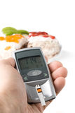 Glucometer Stock Image