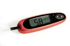 Glucometer Royalty Free Stock Photo