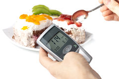 Glucometer Royalty Free Stock Images