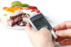 Glucometer Royalty Free Stock Photography