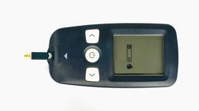 Glucometer. Royalty Free Stock Image