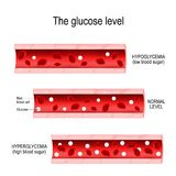 Glucose in the blood vessel Stock Image