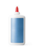 Glue Bottle with Path Royalty Free Stock Image