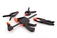 Glue clamps Stock Images