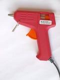 Glue gun. Electric hot glue gun, view close up Stock Photos