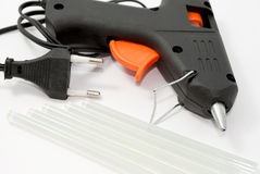 Glue gun. Stock Photo