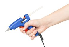 Glue gun Royalty Free Stock Images