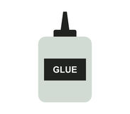 Glue icon illustrated Stock Photography