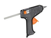Glue-pistol on white Stock Photos
