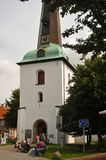 Glueckstadt germnay, igreja histórica velha Fotos de Stock