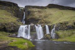 Gluggafoss waterfall Stock Photography