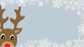 Glurende Rudolph vector illustratie