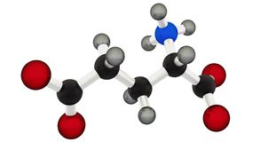 Glutamic acid Stock Image