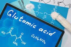 Glutamic acid Stock Photography