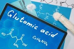 Glutamic acid Stock Photography