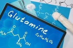Glutamin Lizenzfreies Stockbild