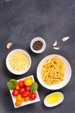 Glutenów składniki dla gotować i Zdrowy jeść co Obrazy Stock