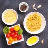 Glutenów składniki dla gotować i Zdrowy jeść co Zdjęcia Stock