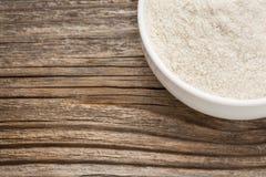 Gluten bezpłatna brown ryżowa mąka zdjęcie royalty free