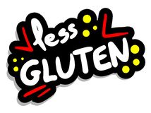 Less gluten Royalty Free Stock Photography