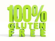 gluten 3d gratuit Photo libre de droits