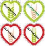 Gluten de symbole gratuit Photographie stock libre de droits