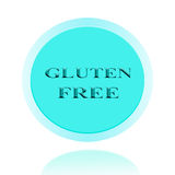 Gluten Fee icon or symbol image concept design with business for Royalty Free Stock Image