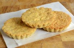 Gluten free almond cakes Stock Image