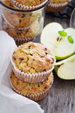 Gluten free almond and oat muffins Stock Images