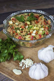 Gluten free amaranth salad Royalty Free Stock Photography