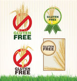 Gluten free banner collection Stock Photography