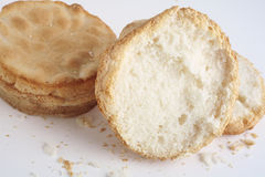 Gluten free bread rolls Royalty Free Stock Images