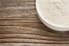 Gluten free brown rice flour Royalty Free Stock Photo