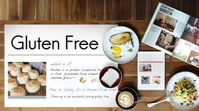 Gluten Free Celiac Disease Concept obrazy royalty free