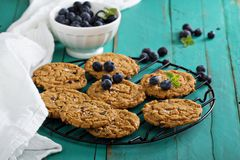 Gluten free chocolate chip cookies Royalty Free Stock Images