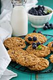 Gluten free chocolate chip cookies Royalty Free Stock Photos