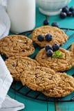 Gluten free chocolate chip cookies Stock Photo