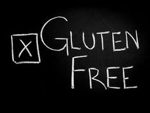 Gluten free choice Royalty Free Stock Image