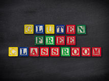 Gluten free classroom Royalty Free Stock Photo