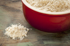 Gluten free coconut flour Stock Photo