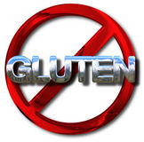 Gluten free concept Stock Image
