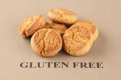 Gluten Free Cookies Royalty Free Stock Image