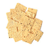 Gluten free crackers Royalty Free Stock Images
