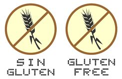 Gluten free Stock Images