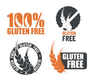 Gluten free. Design, vector illustration eps10 graphic Royalty Free Stock Images