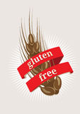 Gluten Free, emblem or icon Stock Image