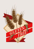 Gluten Free emblem or label Royalty Free Stock Photos