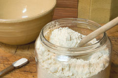 Gluten-free flour Royalty Free Stock Photo